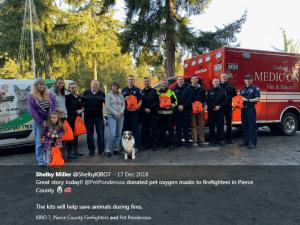 Shelby Miller Kiro Pet Ponderosa Oxygen Masks Graham Fire And Rescue